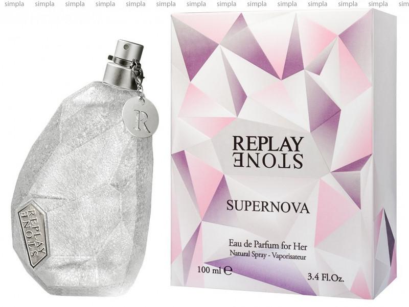 Replay Stone Supernova For Her туалетная вода объем 50 мл тестер (ОРИГИНАЛ)