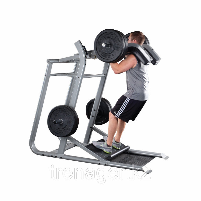Тренажер голень стоя - приседания Body-Solid SLS500 на свободном весе