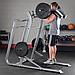 Тренажер голень стоя - приседания Body-Solid SLS500 на свободном весе, фото 7
