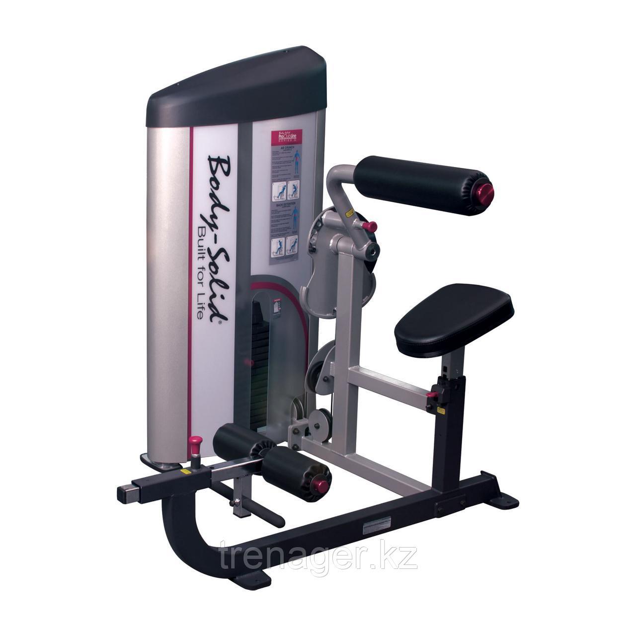 Тренажер для тренировки пресса\спины с весовым стеком 72,5 кг