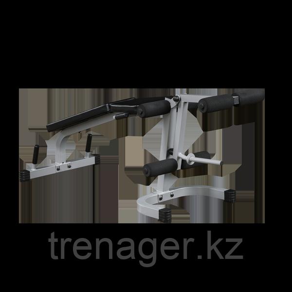 Тренажер разгибание ног сидя - сгибание ног лежа Body-Solid PLCE165X на свободном весе