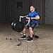 Тренажер тяга с упором в грудь Body-Solid GSRM40 на свободных весах, фото 3