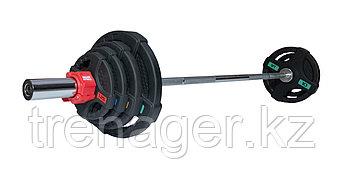 Штанга 53 кг (диски 50 мм с двумя хватами, гриф 180 см)