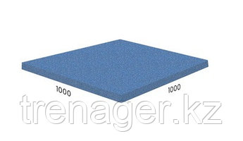 Резиновая плитка - напольное покрытие Standart 1000x1000x40 мм, м2