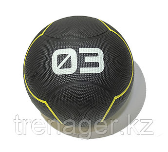 Мяч тренировочный черный 3 кг