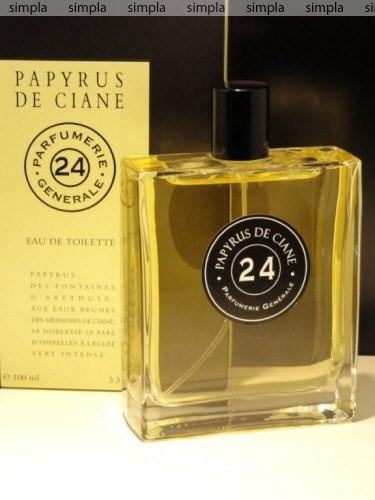 Parfumerie Generale 24 Papyrus de Ciane туалетная вода объем 100 мл тестер (ОРИГИНАЛ)