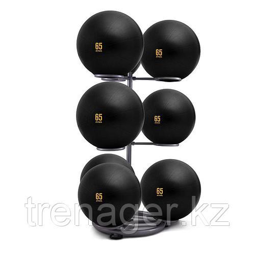 Стойка для мячей гимнастических на 9 мячей серая