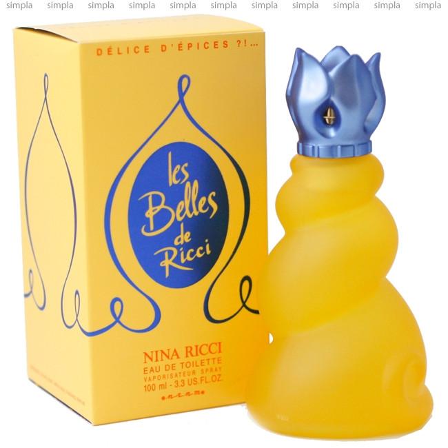 Nina Ricci Les Belles de Ricci Delice d`Epices туалетная вода объем 50 мл тестер (ОРИГИНАЛ)