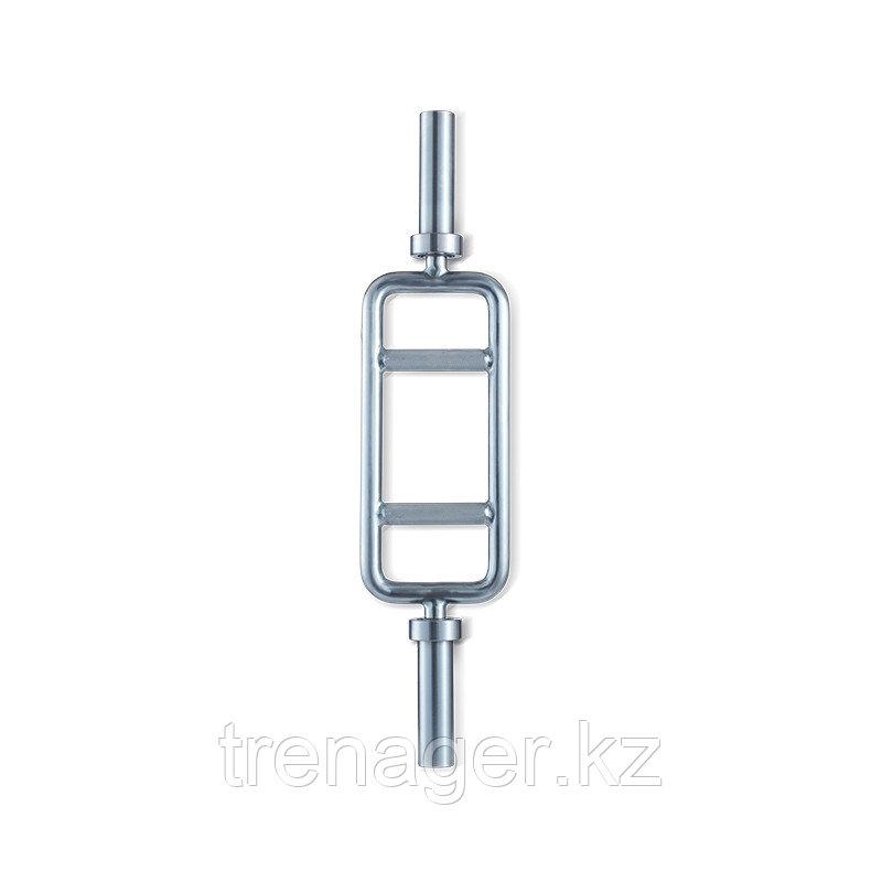 Гриф для трицепса ZIVA хромированный 15 кг
