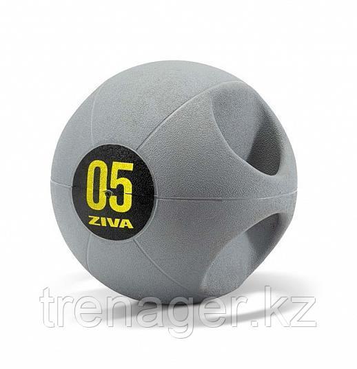 Набивной мяч Medball ZIVA с ручками, 10 кг