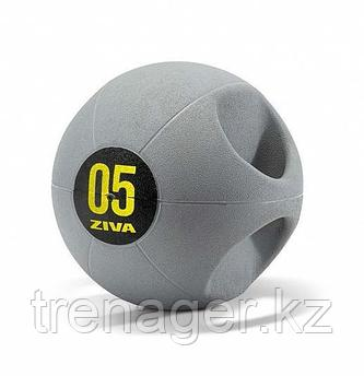 Набивной мяч Medball ZIVA с ручками, 7 кг