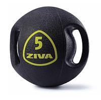 Набор из 5 набивных мячей Medball ZIVA с ручками 6-10 кг (шаг 1 кг), компл