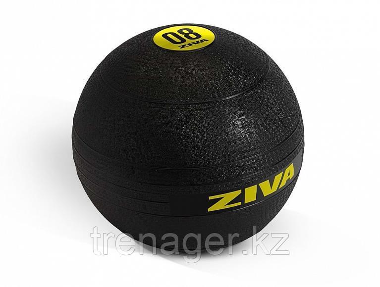 Набор из 7 набивных мячей Slam Ball  ZIVA 4-18 кг, компл