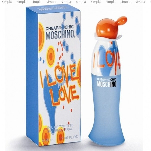 Moschino Cheap And Chic I Love Love туалетная вода объем 30 мл (ОРИГИНАЛ)
