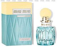 Miu Miu L`Eau Bleue парфюмированная вода объем 30 мл тестер (ОРИГИНАЛ)