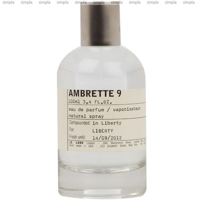 Le Labo Ambrette 9 парфюмированная вода объем 50 мл (ОРИГИНАЛ)