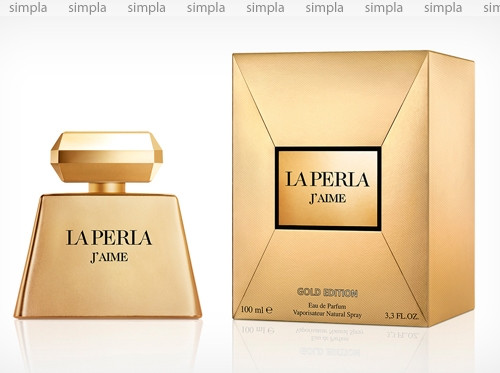 La Perla J'Aime Gold Edition парфюмированная вода объем 100 мл (ОРИГИНАЛ)
