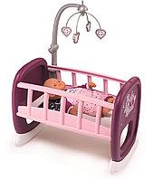Колыбель для пупса с мобилем Smoby Baby Nurse, фото 1