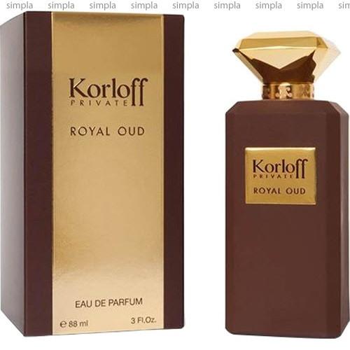 Korloff Royal Oud парфюмированная вода объем 1,2 мл (ОРИГИНАЛ)