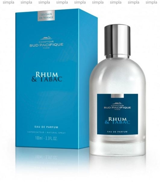 Comptoir Sud Pacifique Rhum & Tabac парфюмированная вода объем 100 мл тестер (ОРИГИНАЛ)