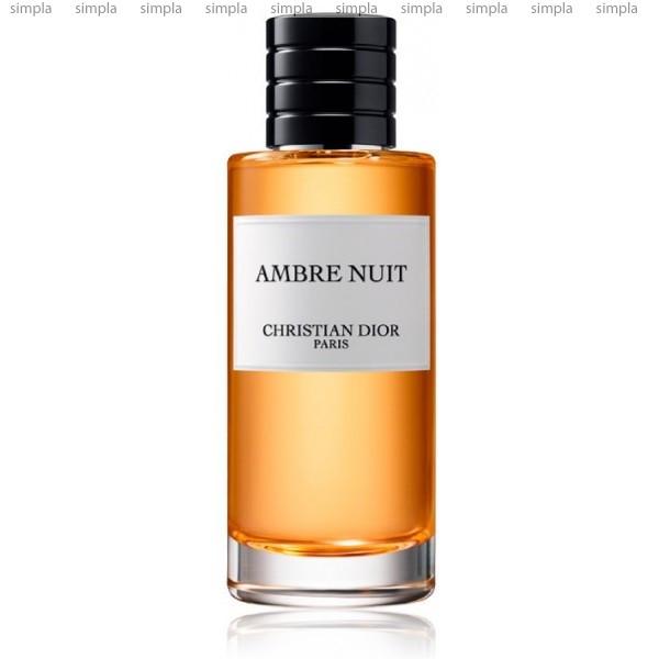 Christian Dior Ambre Nuit парфюмированная вода объем 125 мл (ОРИГИНАЛ)