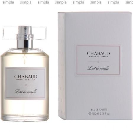 Chabaud Maison de Parfum Lait De Vanille туалетная вода объем 100 мл тестер (ОРИГИНАЛ)