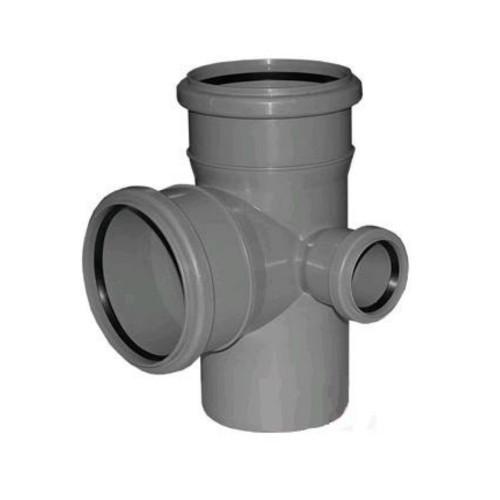 Крестовина двухплоскостная канализационная Правая 110х110х50/90 ПП