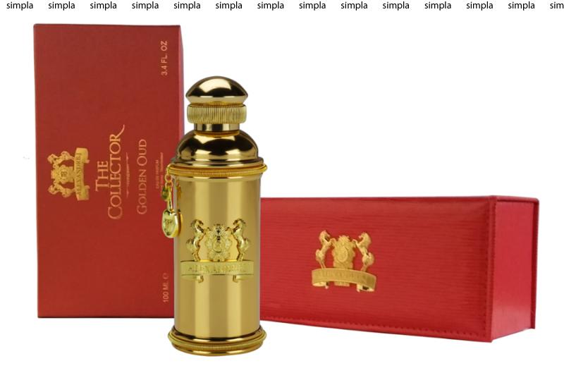 Alexandre J. The Collector Golden Oud парфюмированная вода объем 8 мл (ОРИГИНАЛ)