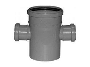 Крестовина одноплоскостная канализационная 110х50х50/90 ПП