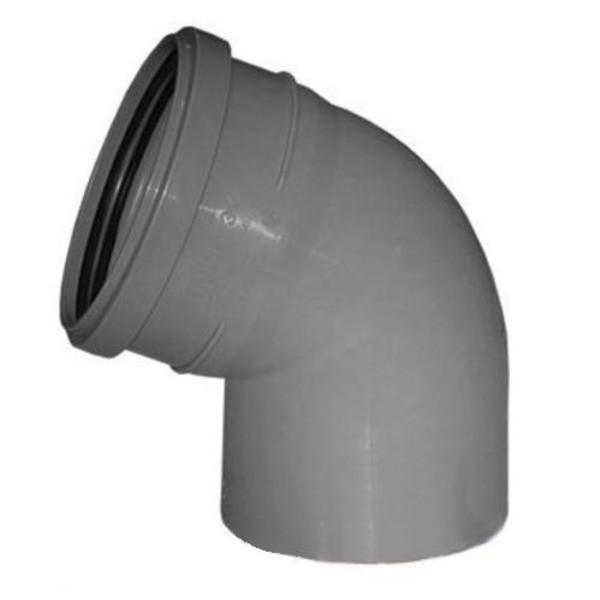 Отвод канализационный 110х45гр ПП