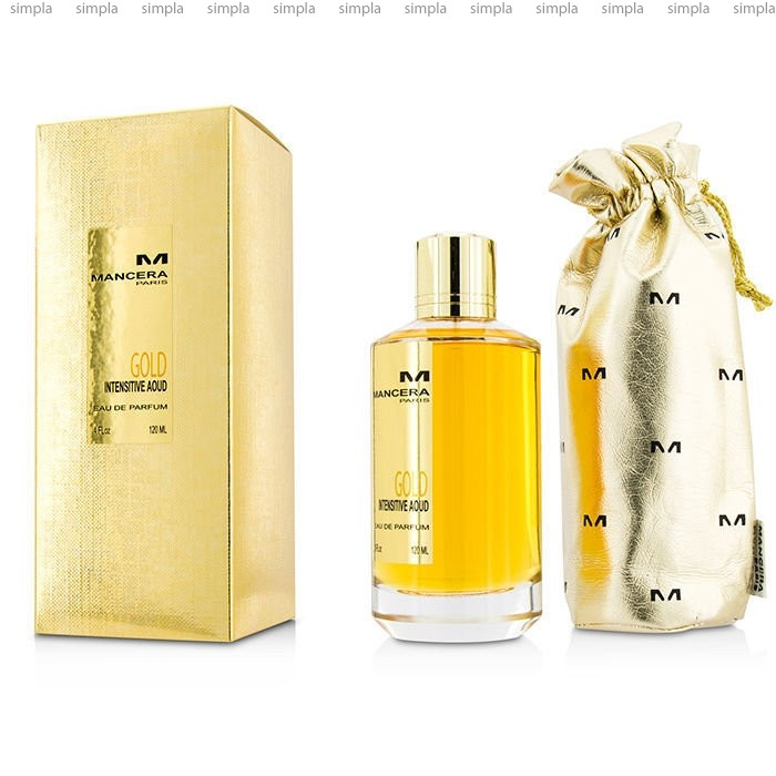 Mancera Intensitive Aoud Gold парфюмированная вода объем 60 мл (ОРИГИНАЛ)