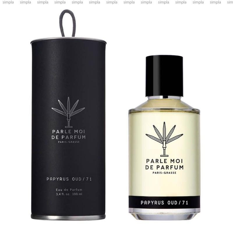 Parle Moi de Parfum Papyrus Oud парфюмированная вода объем 100 мл (ОРИГИНАЛ)