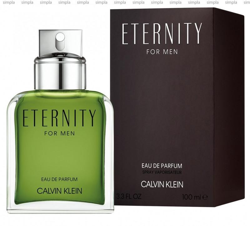 Calvin Klein Eternity for Men Eau de Parfum 2019 парфюмированная вода объем 100 мл тестер (ОРИГИНАЛ)