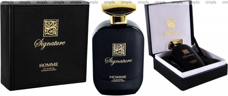 Signature Homme Limited Edition парфюмированная вода объем 100 мл (ОРИГИНАЛ)