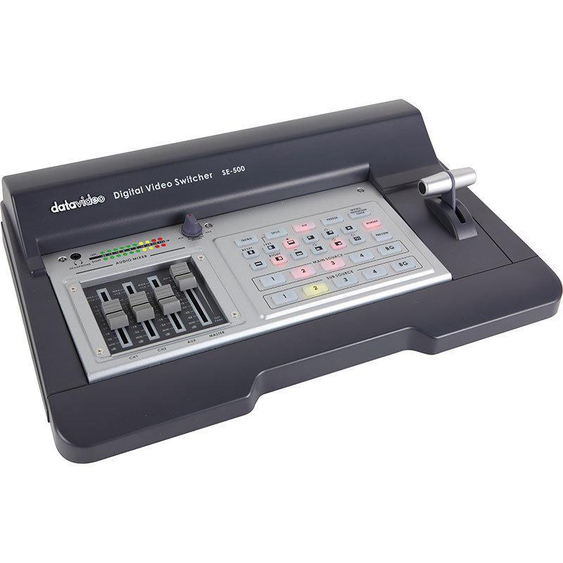 Видео микшер ПТС Datavideo digital video switcher SE-500