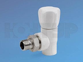 PPR Вентиль радиаторный угловой НР D20-1/2 КОНТУР