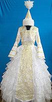 Платье свадебное национальное с саукеле