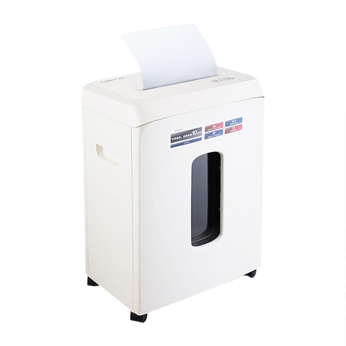 Уничтожитель бумаг, COMIX, S3306, A4, Подача: 6 лист., Уровень секретности: 5, Скорость 2.2 м/мин, Ёмкость