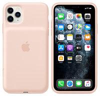 Apple iPhone 11 Pro Max Smart Battery Case Pink Sand зарядка (MWVR2ZM/A)