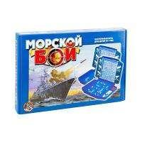 """Десятое королевство Игра настольная """"Морской бой"""", Десятое королевство, пластик, картонная коробка"""