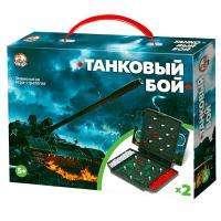 """Десятое королевство Игра настольная """"Танковый бой"""", Десятое королевство (мини формат), картонная коробка"""
