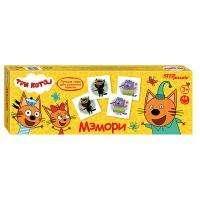 "Step Puzzle Игра настольная мемори ""Три кота"" Step Puzzle, картонная коробка"