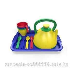Казик Набор посуды  из пластика 10 предметов, цвет ассорти