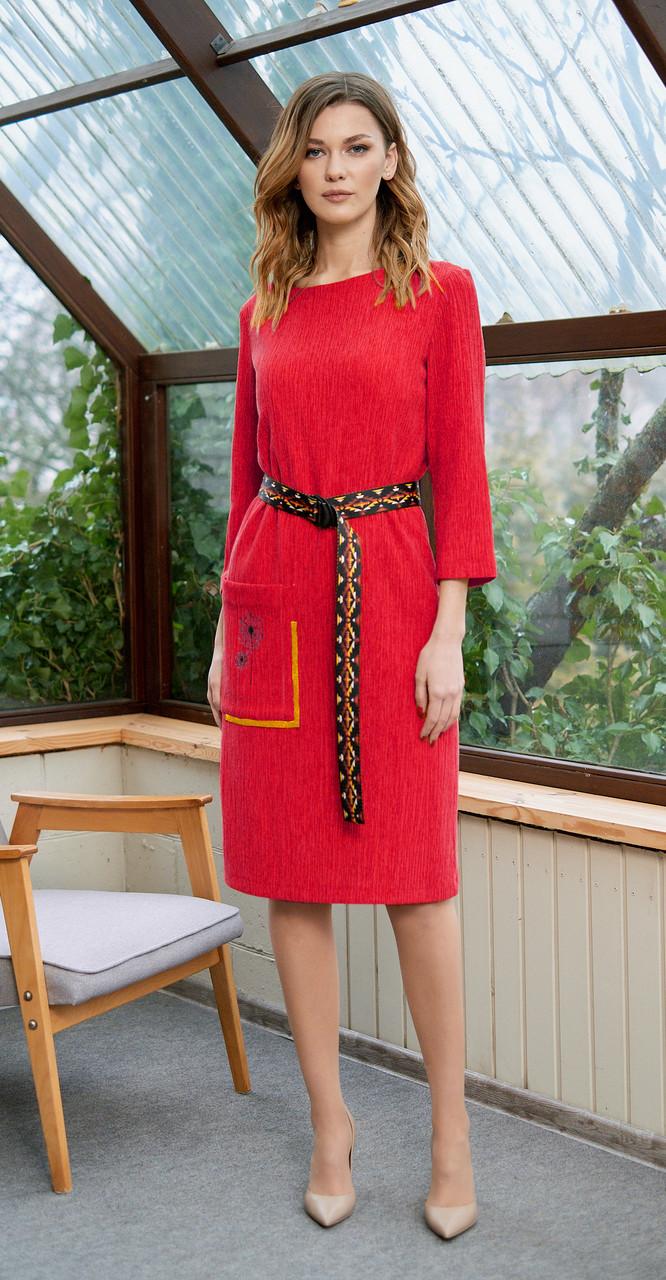 Платье Fantazia Mod-3635/3, малиновый, 48