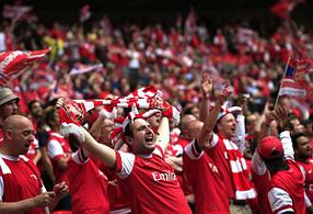 Футбольный набор фаната