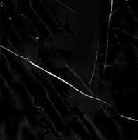 КЕРАМОГРАНИТ 60смХ60см Черный матовый с прожилками