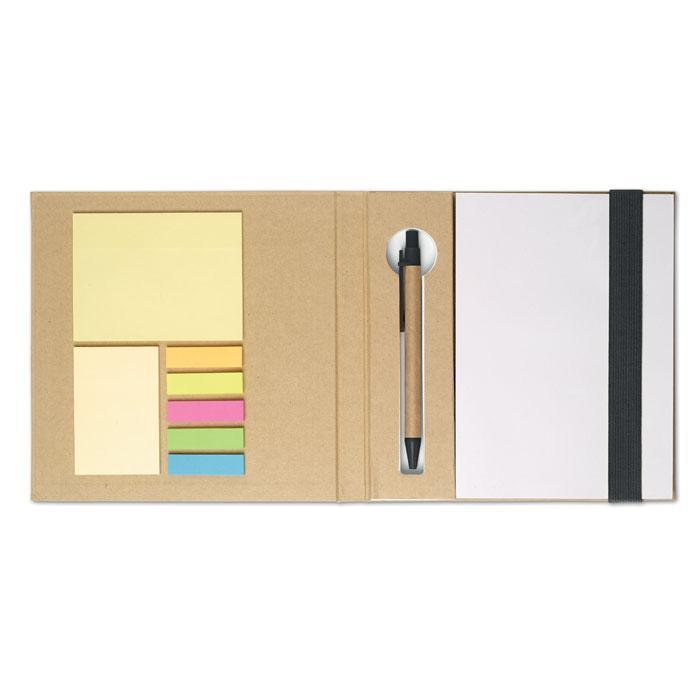 Эко Блокнот с ручкой, QUINCY