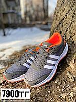 Кроссовки adidas серые, фото 1