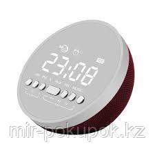 Сенсорная Bluetooth колонка (зеркальная) с часами, радио, будильником