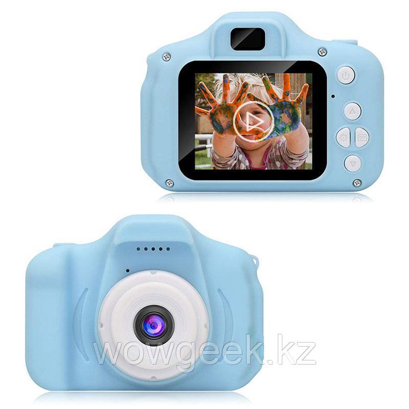 Детский цифровой фотоаппарат с рамками и видеосъемкой 400 mAh